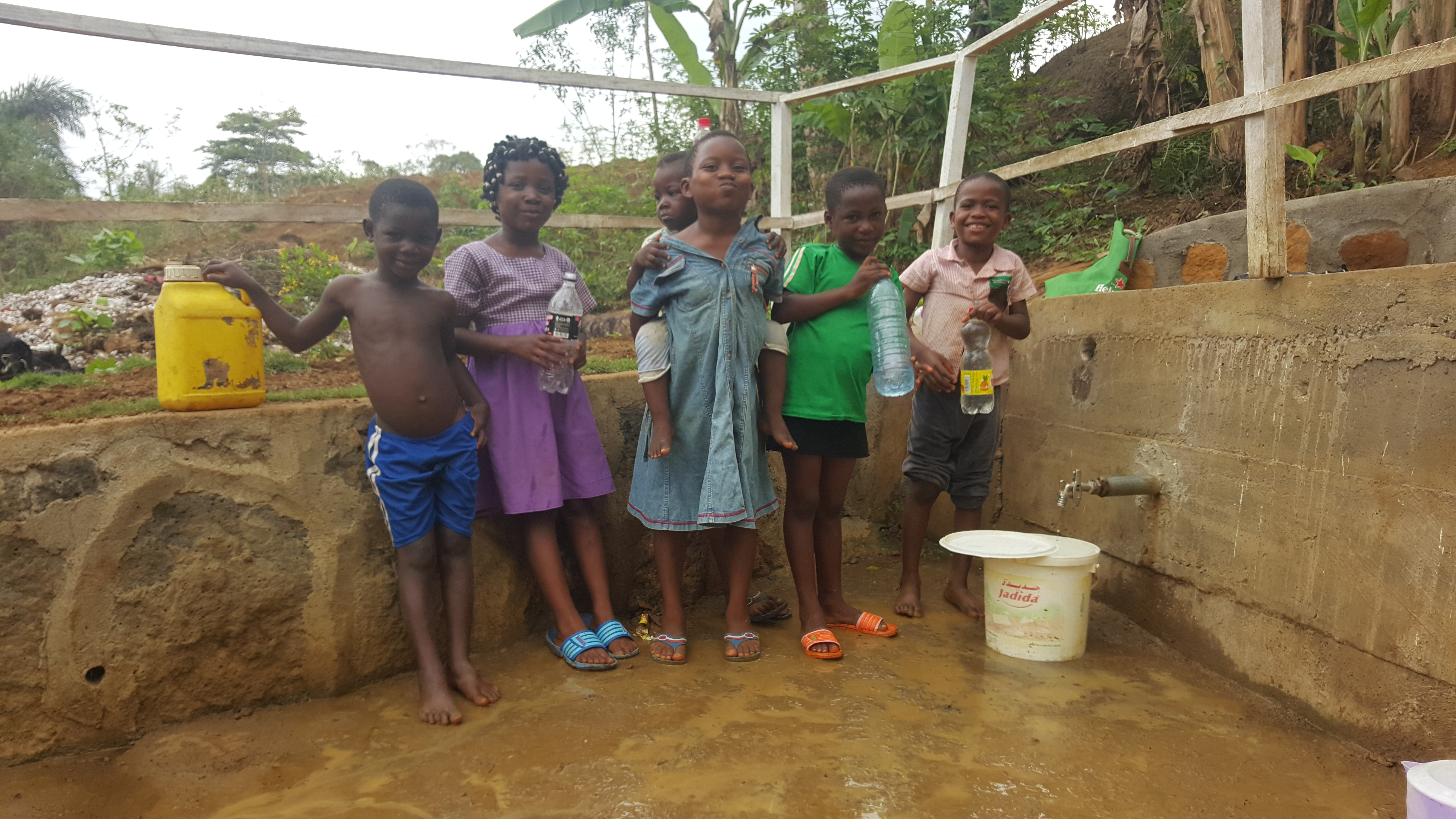 The Clean Water Project - During Construction