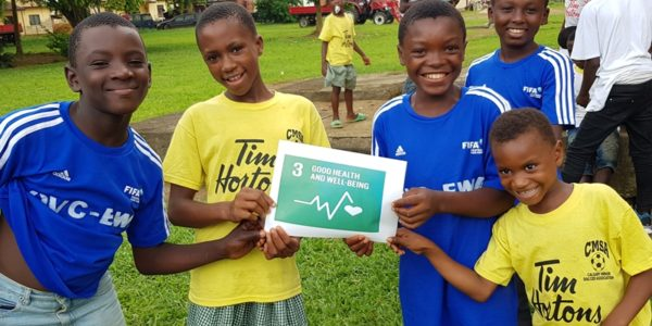 SDG 3: Ensure healthy lives and promote well-being for all at all ages